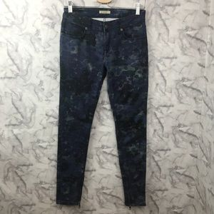 Burberry Brit Printed Skinny Ankle Jeans